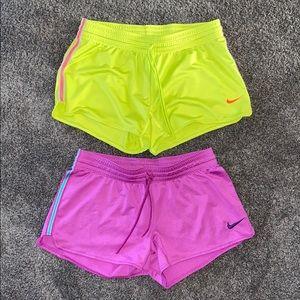 Nike.  Workout Shorts